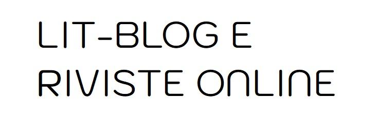 Lit-blog e riviste online